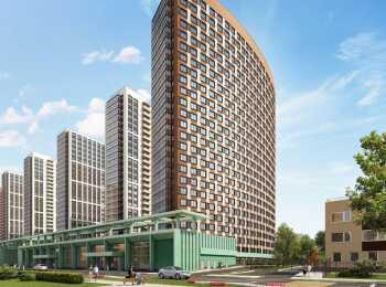 25-этажные дома в ЖК Континенты